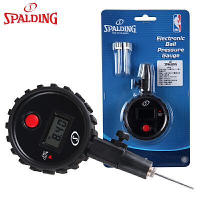 斯伯丁篮球用电子测压表 篮球足球排球球类专用电子气压表