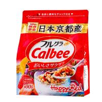 日本进口卡乐比calbee水果麦片500g 网红儿童早餐即食谷物