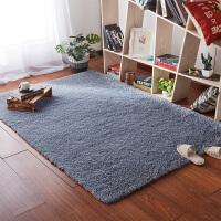 卧室满铺地垫定制白色客厅茶几丝毛地毯垫子长毛飘窗垫可爱床边垫