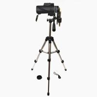 40x60单筒望远镜高倍高清非红外夜视人体透视军望眼镜 升级套餐二 二代夹+68CM支架