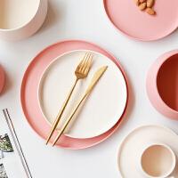 陶瓷餐具套装钵形米饭碗汤碗西餐平盘家用菜盘