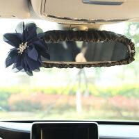 多色大花朵汽车后视镜套可爱车用镜子松紧保护套装饰套饰镜子套女