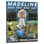 玛德琳和小捣蛋 英文原版绘本 Madeline and the Bad Hat 廖彩杏书单 凯迪克金银双奖韵文与歌谣