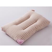 无印格子全棉枕头良品枕芯全棉可水洗羽丝绒记忆枕芯一对拍2