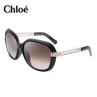 蔻依(Chloe)女士太阳镜 时尚大框板材装饰修脸大框眼镜 女款遮阳镜CE671SA