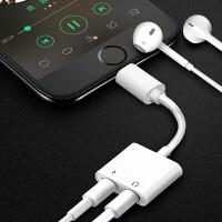 适用苹果耳机转换接头iphone7器se/xr/11pro max二合一手机充电线