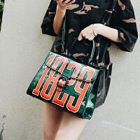 包包新款夏季果冻包女包韩版字母1829手提包大包单肩斜挎包潮