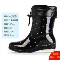雨鞋女短筒时尚韩国雨靴秋冬季水鞋防滑水靴中筒胶鞋套鞋