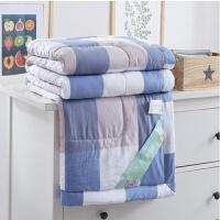炫耀水星 居家家纺空调被家纺棉空调被可水洗夏凉被棉夏被礼品被子薄被