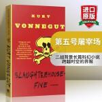 第五号屠宰场 英文原版科幻小说 Slaughterhouse-Five 冯内古特 英文版原版 经典文学 外国文学 正版
