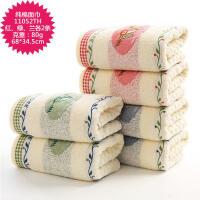 毛巾3 5 6条装加厚男女家用洗脸面巾柔软吸水可