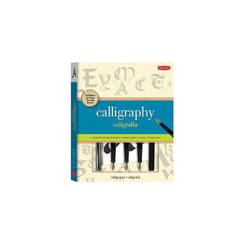 【预订】Calligraphy Kit: A Complete Lettering Kit for Beginners 美国库房发货,通常付款后3-5周到货!