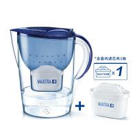 碧然德BRITA厨房净水器过滤芯自来水家用净水壶星光系列3.5L宇宙蓝【1壶1芯】