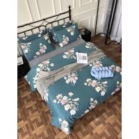 印花磨毛四件套全棉秋冬床上被套床单1.8m床 适合1.8米和2M床