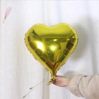 18寸心形铝膜球婚庆结婚爱心铝膜气球桃心形铝箔气球生日派对装饰