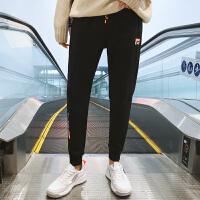 男士棉质运动裤男士宽松长裤小脚卫裤休闲裤男大码跑步裤子潮K8009