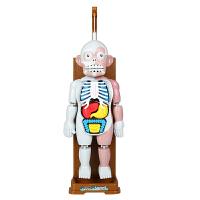 人体模型拼装骷髅恐怖鬼屋恶搞儿童节整蛊偶桌面玩具 大号