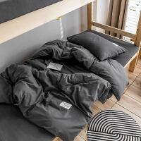 被子单人学生宿舍男三件套四季通用学生寝室床上三件套全棉纯棉床单被罩大学宿舍床上六件套单人床男