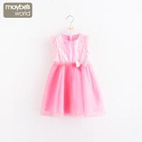 女童蕾丝连衣裙公主裙女孩宝宝裙子 儿童新款童装夏装
