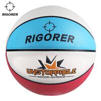 准者儿童篮球 PU室内室外通用球5号篮球 吸湿耐磨防滑lanqiu蓝球