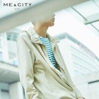 【1件2.5折到手价:148.8】MECITY男装轻薄连帽运动男夹克外套
