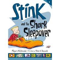 英文原版 Stink and the Shark Sleepover