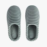 当当优品 情侣居家棉拖鞋 厚底毛绒保暖棉拖鞋 D1631