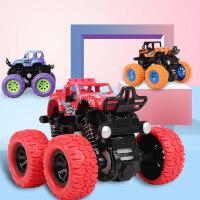 儿童惯性四驱越野车男孩模型车2-3-4-5岁宝宝小汽车抗耐摔玩具车