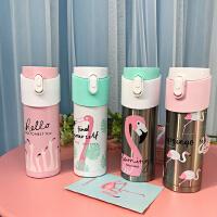 日系原宿保温杯 杯子可爱卡通冬季新款杯学生便携韩版小清新水杯