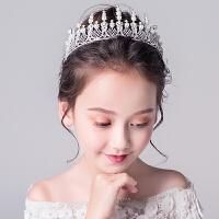 儿童头饰女童生日走秀演出发箍花童刘海发饰婚纱配饰童话皇冠装饰