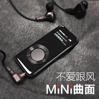 mp3音乐播放器学生迷你随身听插卡外放无损HIFImp4超薄电子阅读器英语复读机