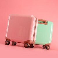 小行李箱拉杆女韩版可爱小清新18寸密码皮箱旅行箱个性登机大学生