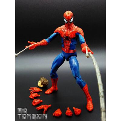 正版漫威可换面具 超凡蜘蛛侠2电影版可动人偶 手办公仔生日礼物