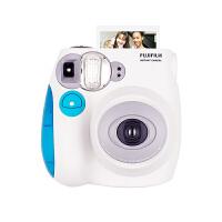 【支持礼品卡+包邮】富士拍立得 mini7s 蓝色相机 迷你7s 一次成像 即影即得拍立得相机 生日礼物 情人节礼物送