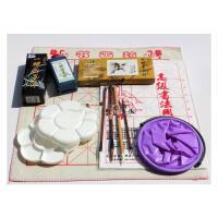 马利牌12色18色24色中国画颜料 初学者国画工具套装 10件套