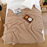 20181216190307856纯棉纱布毛巾被双人单人夏季午休沙发毯柔软舒适毛巾毯空调毯床单