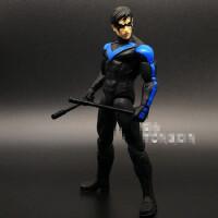 蝙蝠侠大战超人夜翼小丑女 正义联盟可动人偶手办模型动漫玩具 DC