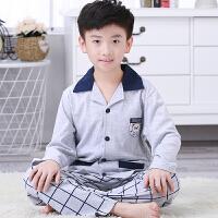 儿童睡衣男童秋季长袖套装男孩春秋季家居服大童