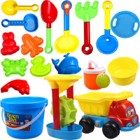 儿童沙滩玩具套装大号沙漏挖沙子工具婴儿戏水玩沙洗澡决明子玩具
