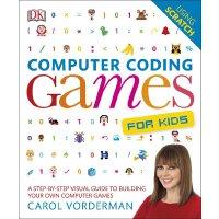 Computer Coding Games for Kids 英文原版 DK儿童电脑编程游戏