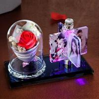 手工定制风车旋转相框摆台相册结婚摆件情侣婚纱照片礼品