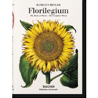 现货塔森出版巴西利厄斯・贝斯莱尔选集 英文原版THE BOOK OF PLANTS植物图谱大师手绘手稿 艺术绘画书籍 进