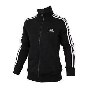 Adidas阿迪达斯 2017新款女子训练系列针织运动休闲夹克外套 S97427