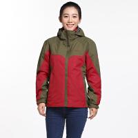 【满300减50,领券再减20】AIRTEX亚特秋冬季保暖加厚冲锋衣女士三合一防水西藏两件套登山服