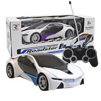 1:16宝马i8概念车 儿童电动玩具车模型 3D炫彩灯光遥控车