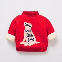 №【2019新款】冬天儿童穿的韩版童装男女儿童上衣冬装高领打底衫宝宝卫衣潮