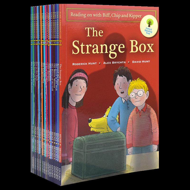 Oxford Reading Tree 18册 原版进口牛津阅读树11-13 阶 英语分级阅读绘本 英语章节小说 儿童英文原版图书进口 7-12岁 全套音频
