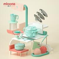 曼龙注水保温碗婴幼儿碗勺套装辅食碗宝宝吃饭吸盘碗儿童餐具套装
