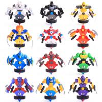 儿童战斗拉线玩具男孩梦幻坨螺魔幻陀螺3之机甲战车全套