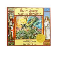 圣乔治和龙 Saint George and the Dragon 凯迪克大奖金奖绘本 英文原版 英国传说 古典文学
